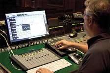 Sound Designer Skip Lievsay working with Avid MC Mix for True Grit