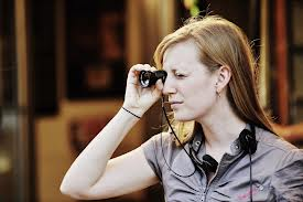 Director Sarah Polley Preparing a Shot