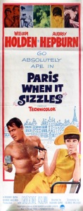 Sizzle in Paris this summer with Hepburn and Holden as they work to get the screenwriting juices flowing